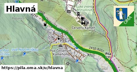 ilustrácia k Hlavná, Píla - 1,95km