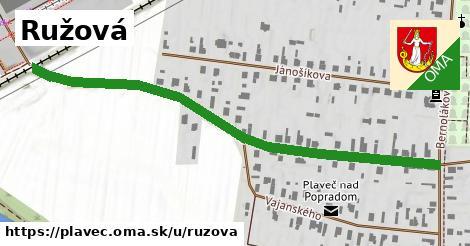 ilustrácia k Ružová, Plaveč - 659m