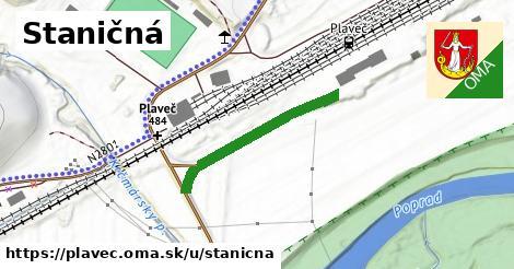 ilustrácia k Staničná, Plaveč - 266m