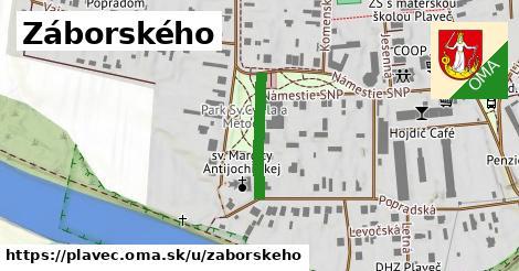 ilustrácia k Záborského, Plaveč - 181m