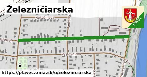 ilustrácia k Železničiarska, Plaveč - 551m