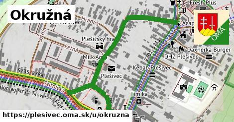 ilustrácia k Okružná, Plešivec - 486m