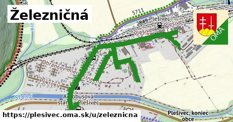 ilustrácia k Železničná, Plešivec - 0,97km