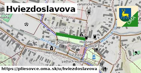 ilustrácia k Hviezdoslavova, Pliešovce - 151m