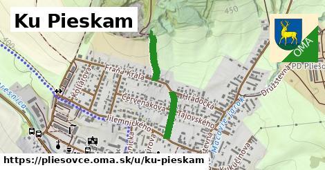 ilustrácia k Ku pieskam, Pliešovce - 544m