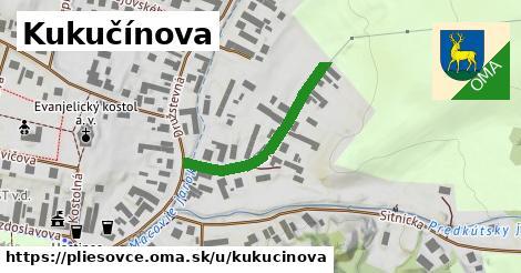 ilustrácia k Kukučínova, Pliešovce - 285m