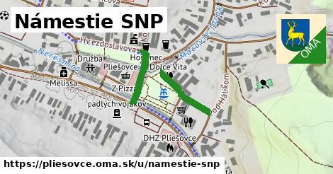 ilustrácia k Námestie SNP, Pliešovce - 574m
