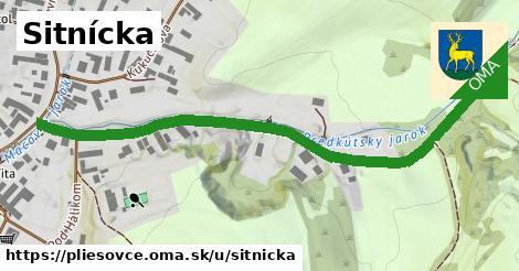 ilustrácia k Sitnícka, Pliešovce - 691m