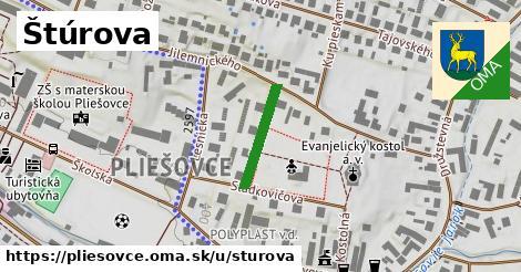 ilustrácia k Štúrova, Pliešovce - 156m