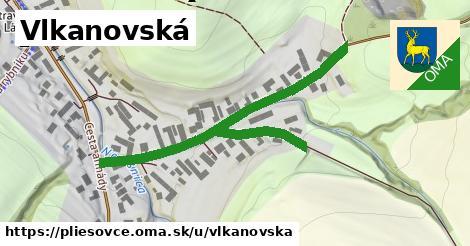 ilustrácia k Vlkanovská, Pliešovce - 601m