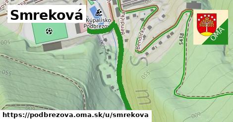ilustrácia k Smreková, Podbrezová - 325m