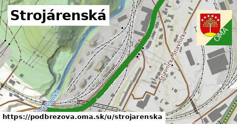 ilustrácia k Strojárenská, Podbrezová - 609m