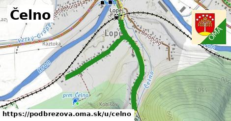 ilustrácia k Čelno, Podbrezová - 1,11km