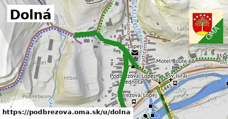ilustrácia k Dolná, Podbrezová - 0,79km