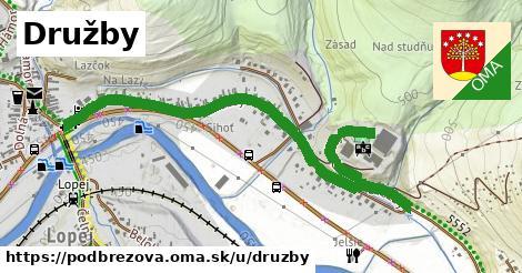 ilustrácia k Družby, Podbrezová - 1,65km