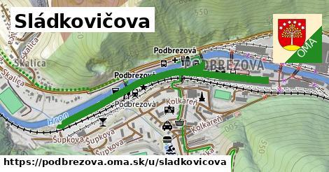ilustrácia k Sládkovičova, Podbrezová - 1,09km