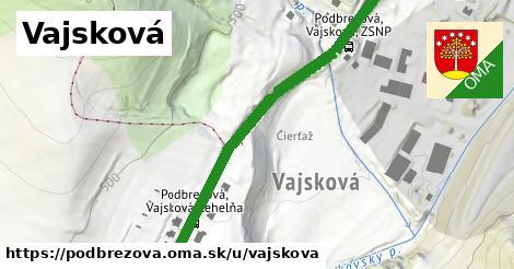 ilustrácia k Vajsková, Podbrezová - 292m