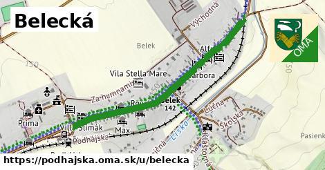ilustrácia k Belecká, Podhájska - 0,97km