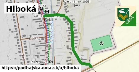 ilustrácia k Hlboká, Podhájska - 468m