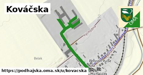 ilustrácia k Kováčska, Podhájska - 494m