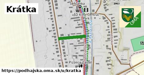 ilustrácia k Krátka, Podhájska - 140m