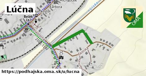 ilustrácia k Lúčna, Podhájska - 258m
