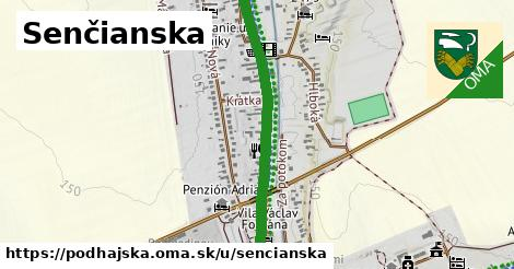 ilustrácia k Senčianska, Podhájska - 1,34km