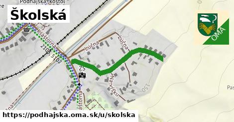 ilustrácia k Školská, Podhájska - 335m