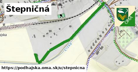 ilustrácia k Štepničná, Podhájska - 545m