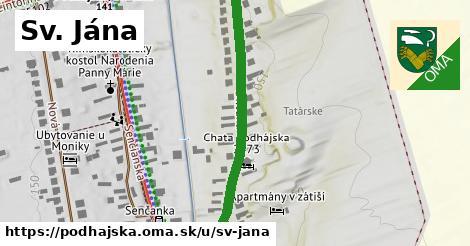 ilustrácia k Sv. Jána, Podhájska - 402m