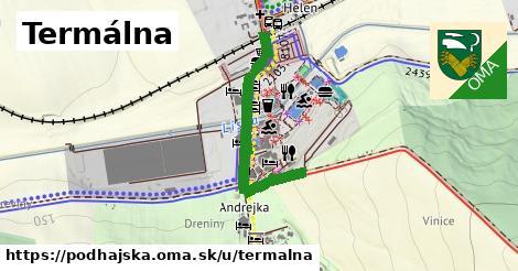 ilustrácia k Termálna, Podhájska - 465m