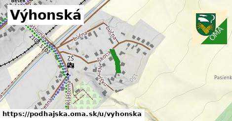 ilustrácia k Výhonská, Podhájska - 80m