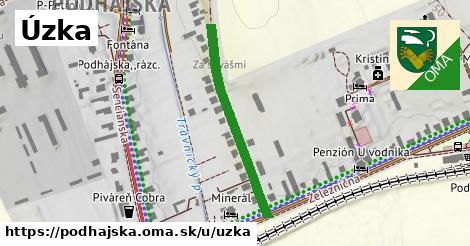 ilustrácia k Úzka, Podhájska - 315m