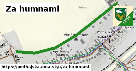 ilustrácia k Za humnami, Podhájska - 645m