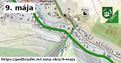 ilustrácia k 9. mája, Podhradie, okres MT - 0,78km