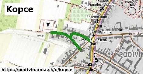 ilustrácia k Kopce, Podivín - 316m