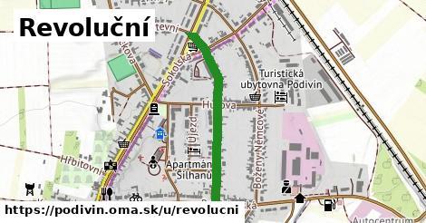 ilustrácia k Revoluční, Podivín - 620m