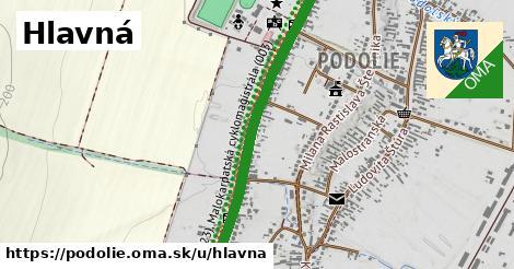 ilustračný obrázok k Hlavná, Podolie