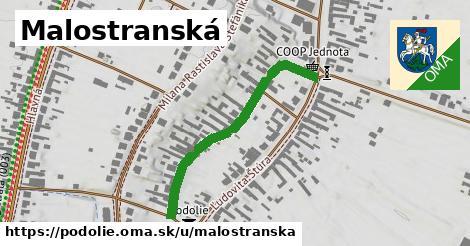 ilustrácia k Malostranská, Podolie - 375m