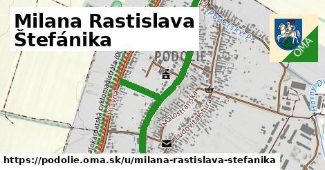 ilustrácia k Milana Rastislava Štefánika, Podolie - 0,83km