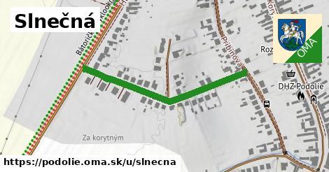 ilustrácia k Slnečná, Podolie - 397m