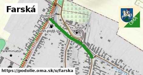 ilustrácia k Farská, Podolie - 305m