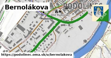 ilustrácia k Bernolákova, Podolínec - 621m