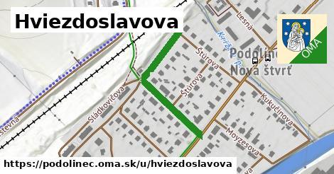 ilustrácia k Hviezdoslavova, Podolínec - 312m