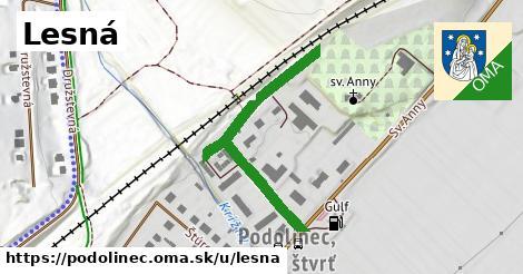 ilustrácia k Lesná, Podolínec - 2,3km