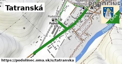 ilustrácia k Tatranská, Podolínec - 0,98km