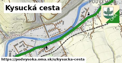 ilustrácia k Kysucká cesta, Podvysoká - 3,7km
