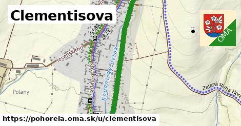 ilustrácia k Clementisova, Pohorelá - 1,34km