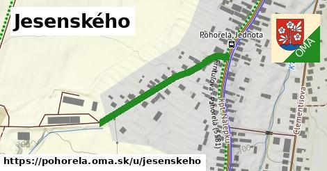 ilustrácia k Jesenského, Pohorelá - 334m
