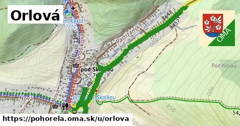 ilustrácia k Orlová, Pohorelá - 0,97km
